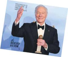 Christopher Plummer, Golden Award Winner, 2012