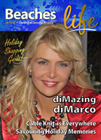 Beaches|Life Holiday (Dec/Jan 13) issue cover - Celebrating the Holiday Season