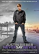 Justin Bieber: Never Say Never (2011)Dir. Jon M. Chu; Justin Bieber, Boys II Men, Miley Cyrus