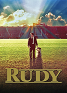 Rudy (1993) Dir. David Anspaugh;  Sean Astin, Jon Favreau, Ned Beatty