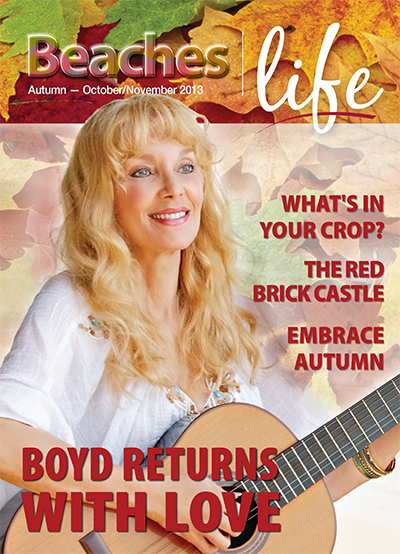 Beaches|Life 2013 Autumn 2013 cover - Liona Boyd