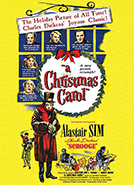 A Christmas Carol (1951) Dir. Brian Desmond Hurst; Alastair Sim, Jack Warner