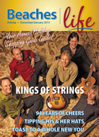 Beaches|Life 2013/14 Holiday - Sultans of Strings and Holiday Shopping Guide in the Beaches