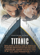 Titanic (1997) Dir. James Cameron; Leonardo DiCaprio, Kate Winslet, Billy Zane