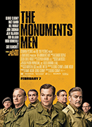 The Monuments Men (2014) Dir. George Clooney; George Clooney, Matt Damon,  Bill Murray (book The Monuments Men... by Robert M. Edsel)
