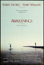 Awakenings (1990) Dir. Penny Marshall; Robert De Niro, Robin Williams, Julie Quaver