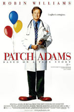 Patch Adams (1998) Dir. Tom Shadyac; Robin Williams, Daniel London, Monica Potter