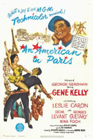 An American in Paris (1951) Dir. Vincente Minnelli; Gene Kelly, Leslie Caron, Oscar Levant, Georges Guétary