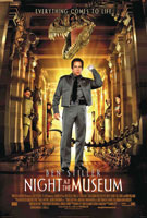 Night At The Museum (2006) Shawn Levy; Ben Stiller, Carla Gugino, Ricky Gervais