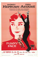Funny Face (1957) Dir. Stanley Donen; Audrey Hepburn, Fred Astaire, Kay Thompson