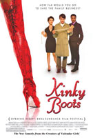 Kinky Boots (2005) Dir. Julian Jarrold;  Chiwetel Ejiofor, Joel Edgerton, Sarah-Jane Potts