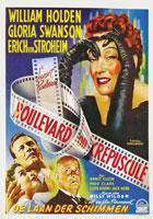 Sunset Boulevard (1950) Dir. Billy Wilder; William Holden, Gloria Swanson, Erich von Stroheim