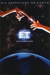 E.T. the Extra-Terrestrial (1982); Dir. Steven Spielberg; Henry Thomas, Peter Coyote, Drew Barrymore