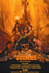 The Goonies (1985); Dir. Richard Donner; Sean Astin, Josh Brolin, Jeff Cohen