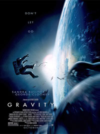Gravity (2013) Dir. Alfonso Cuaron; Sandra Bullock, George Clooney, Ed Harris