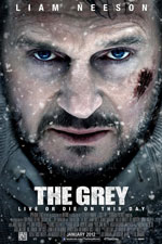 The Grey (2011) Dir. Joe Carnahan; Liam Neeson, Dermot Mulroney, Frank Grillo, Dallas Roberts