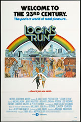 Logan's Run (1976) Dir. Michael Anderson; Michael York, Jenny Agutter, Richard Jordan