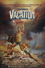 National Lampoon's Vacation (1983)  Dir. Harold Ramis; Chevy Chase, Beverly D'Angelo, Imogene Coca