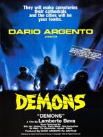Demons (1985) Dir. Lamberto Bava; Geretta Geretta, Urbano Barberini, Natasha Hovey