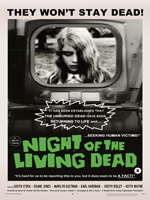 Night of the Living Dead (1968) Dir. George Romero; Duane Jones, Judith O'Dea, Karl Hardman