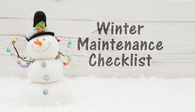 WinterMaintenance
