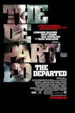 THE DEPARTED (2006) Dir. Martin Scorsese; Leonardo DiCaprio, Matt Damon, Jack Nicholson