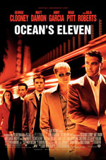 OCEAN'S ELEVEN (2001) Dir. Steven Soderbergh; George Clayton Johnson, Jack Golden Russell