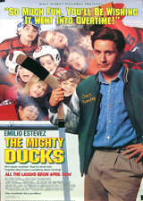 The Mighty Ducks (1992) Dir. Stephen Herek; Emilio Estevez, Joshua Jackson, Lane Smith