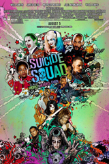 Suicide Squad (2016) Dir. David Ayer; Will Smith, Jared Leto, Margot Robbie