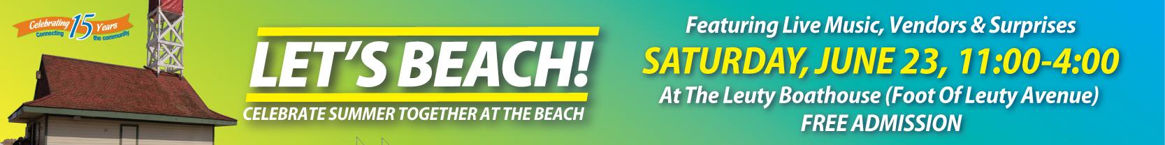 Let's Beach 2018