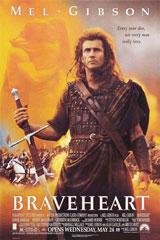 Braveheart (1995) Dir. Mel Gibson; Mel Gibson, Sophie Marceau, Patrick McGoohan