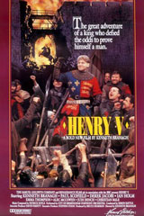 Henry V (1989) Dir. Kenneth Branagh; Kenneth Branagh, Derek Jacobi, Simon Shepherd
