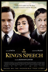 The King's Speech (2010) Dir. Tom Hooper; Colin Firth, Geoffrey Rush, Helena Bonham Carter