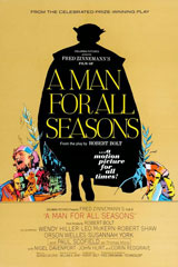 A Man for all Seasons (1966) Dir. Fred Zinnemann; Paul Scofield, Wendy Hiller, Robert Shaw
