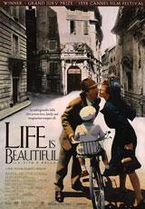 Life Is Beautiful (1997) Dir. Roberto Benigni; Roberto Benigni, Nicoletta Braschi, Giorgio Cantarini