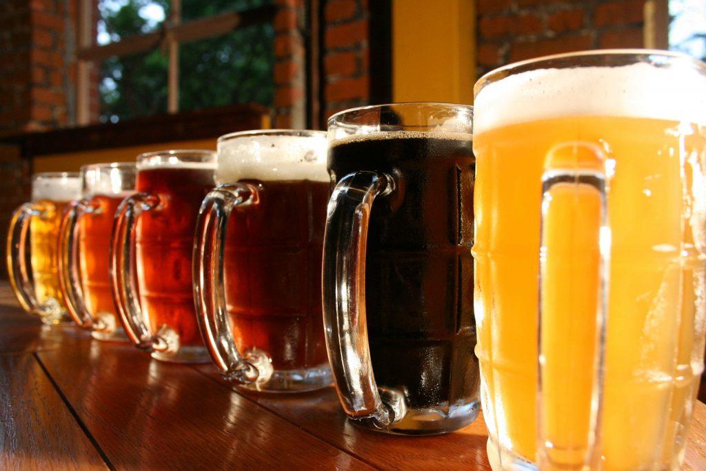 Craft Beer at local pub