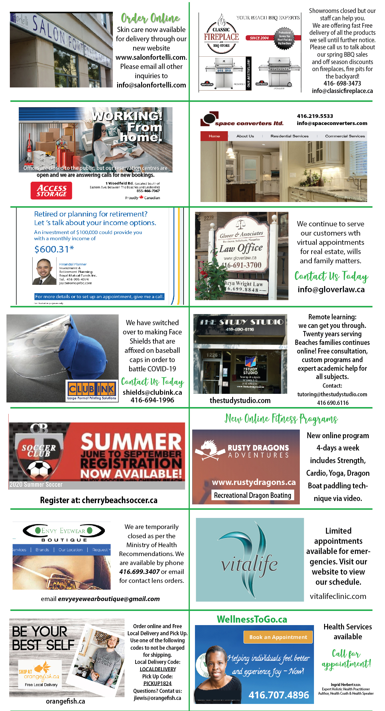 Local businesses Online
