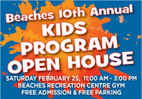 Event Photo and Video - Beaches Kids Program Open House 9th year