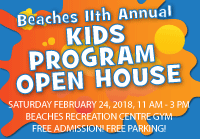 Event Photo and Video - Beaches Kids Program Open House 11th year