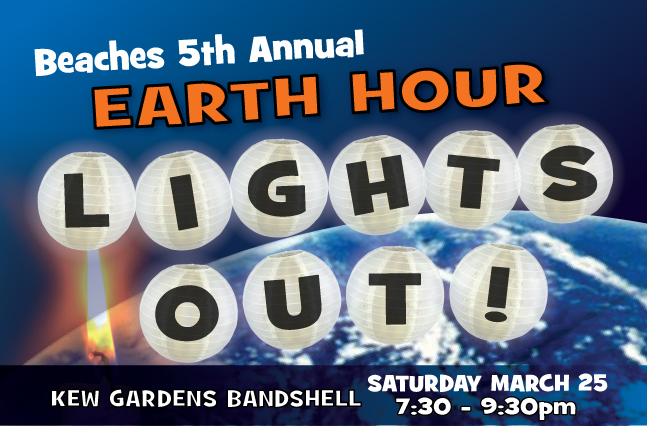 Event Photos and Video - Beaches Earth Hour LIGHTS OUT! 2016