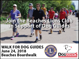 Beaches Lions Club Walk For Guide Dogs