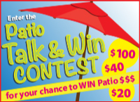 Summer Beaches Patio Contest and Win