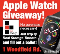 Real Storage Apple Watch Giveaway
