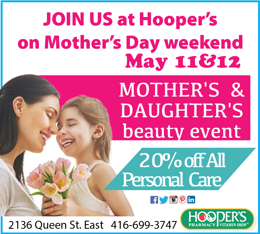 Hooper's Spring Events