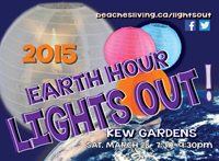 Earth Hour LIGHTS OUT