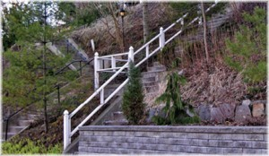Stairs on Neville Park Ave.