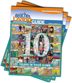 Beaches Living Guide 10 years