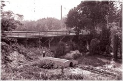 City of Toronto Archives, Edgewood Ave Bridge, 1916