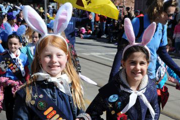 Beaches Lions Club Easter Parade, 2016 event photos