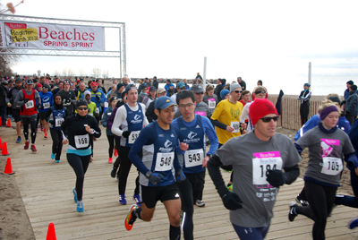 Beaches Spring Sprint 2016 race results and photos